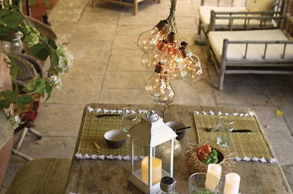 Iluminaciones decorativas para casa i jardín.