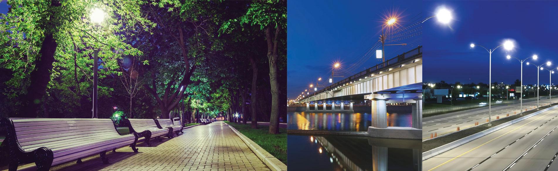 Iluminación Vial en tecnologia LED