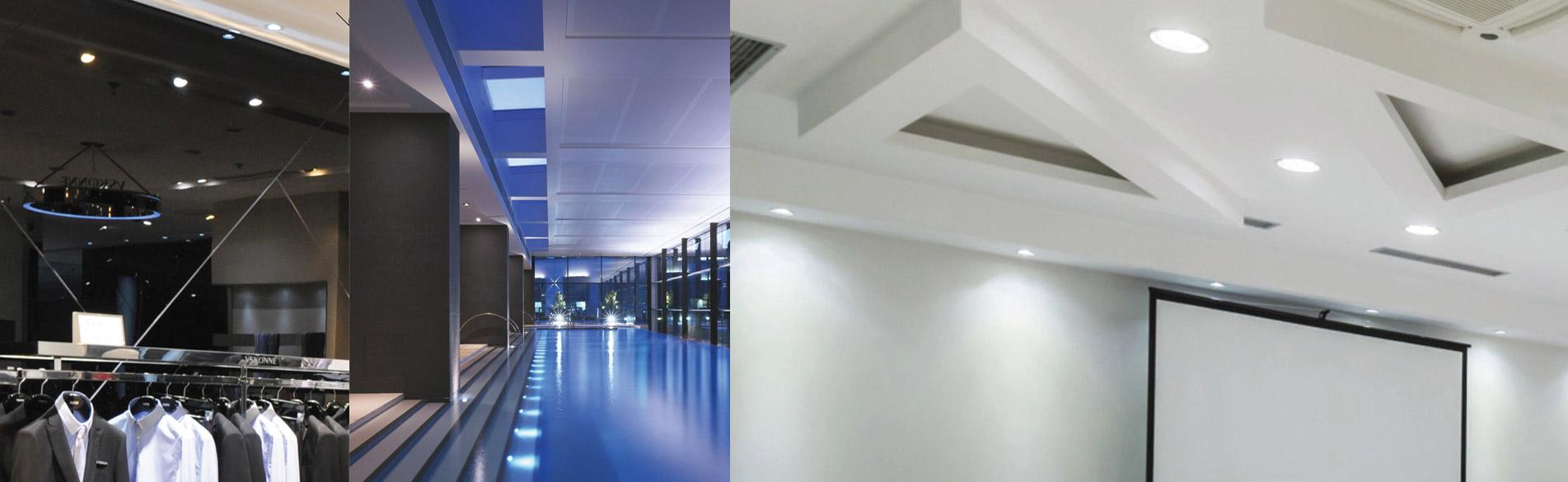 Iluminación de interiores en tecnologia LED