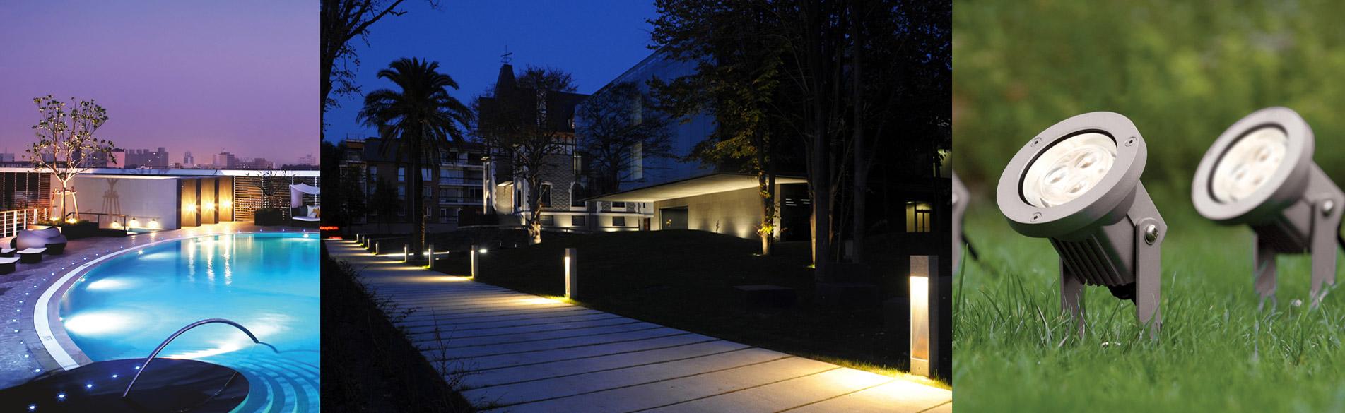 Iluminación de espacios urbanos en tecnologia LED